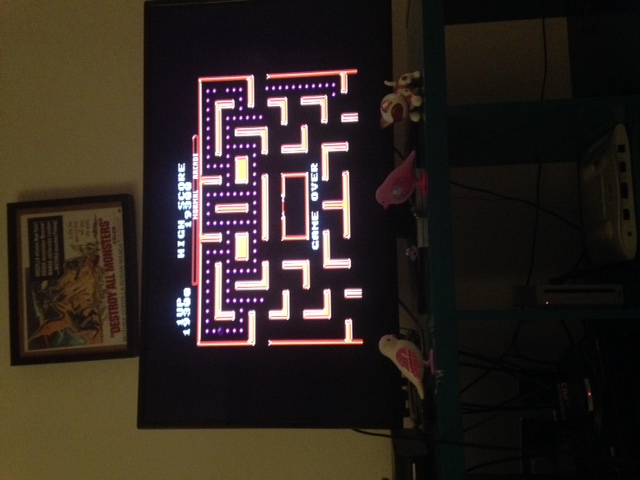 Ms. Pac-Man 19,300 points