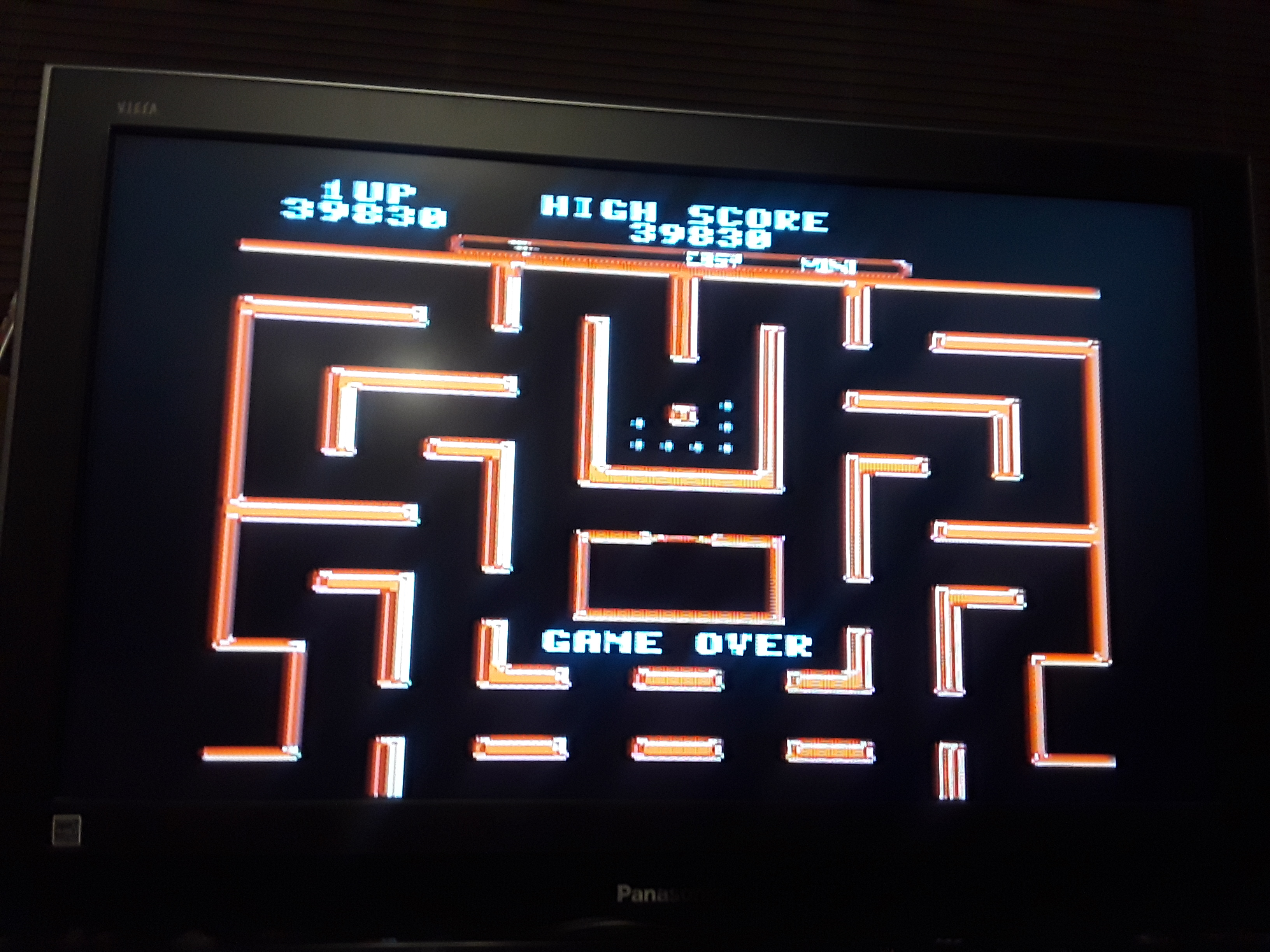 Ms. Pac-Man 39,830 points