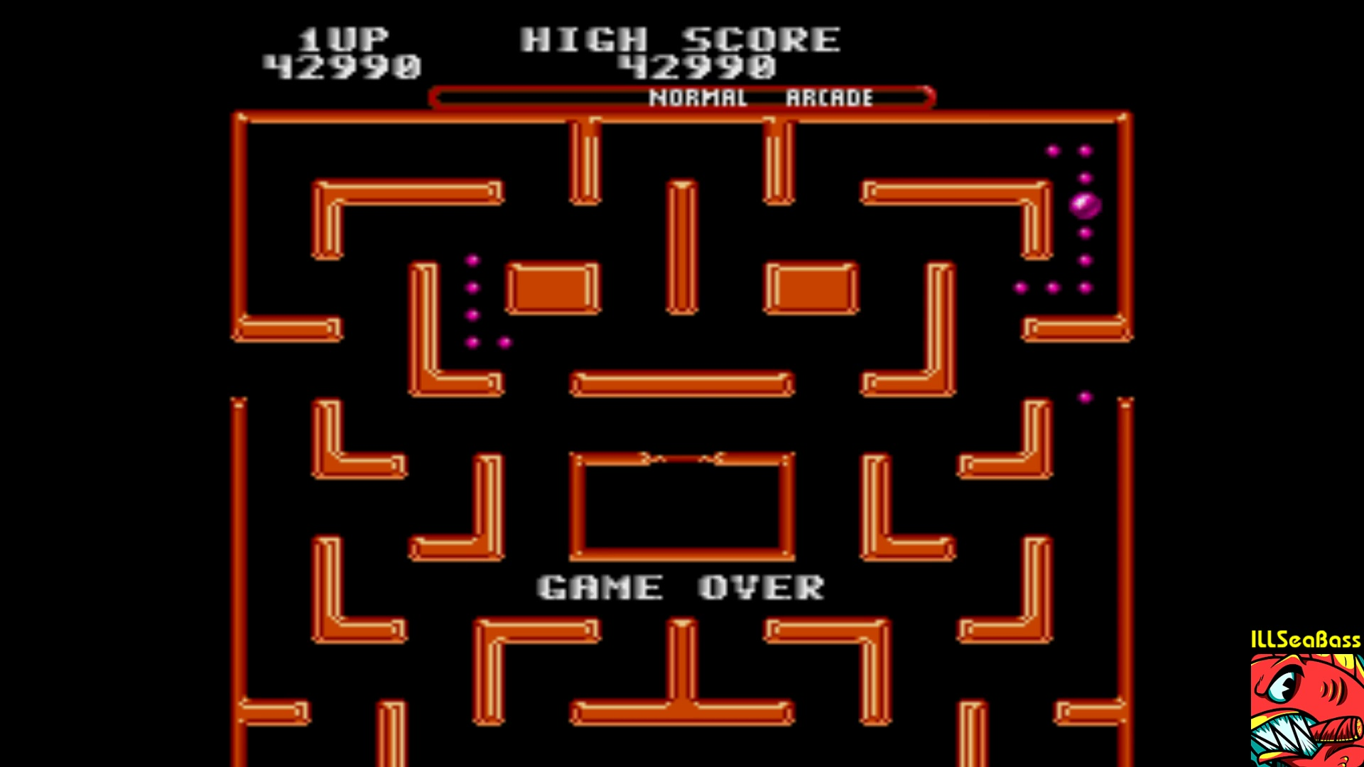 ILLSeaBass: Ms. Pac-Man (Sega Genesis / MegaDrive Emulated) 42,990 points on 2018-01-21 01:55:28