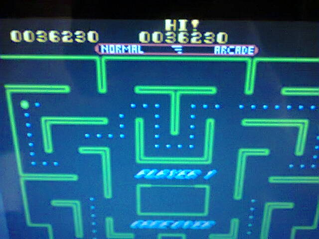 Ms. Pac-Man 36,230 points