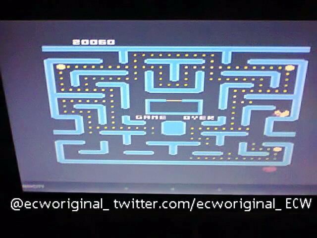 ecworiginal: Ms. Pac-Man [Strawberry Start] (Atari 400/800/XL/XE Emulated) 20,060 points on 2016-04-25 14:04:31