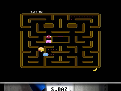 S.BAZ: Ms. Pac-Man [Strawberry Start] (Atari 400/800/XL/XE Emulated) 72,770 points on 2016-05-18 01:32:17