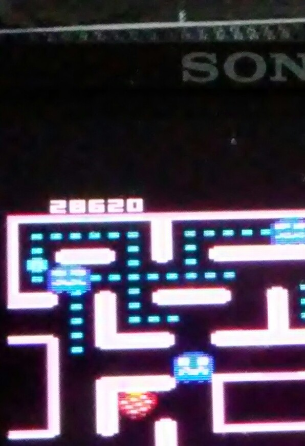 Pjsteele: Ms. Pac-Man: Strawberry Start (Atari 7800 Emulated) 28,620 points on 2018-06-18 09:05:37