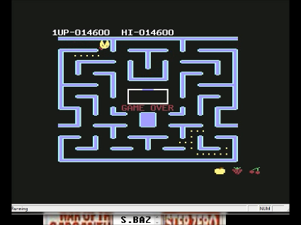 S.BAZ: Ms. Pac-Man [Strawberry Start] (Commodore 64 Emulated) 14,600 points on 2016-05-31 11:29:50