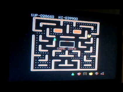 S.BAZ: Ms. Pac-Man [Strawberry Start] (Commodore 64) 28,660 points on 2016-06-15 13:16:47