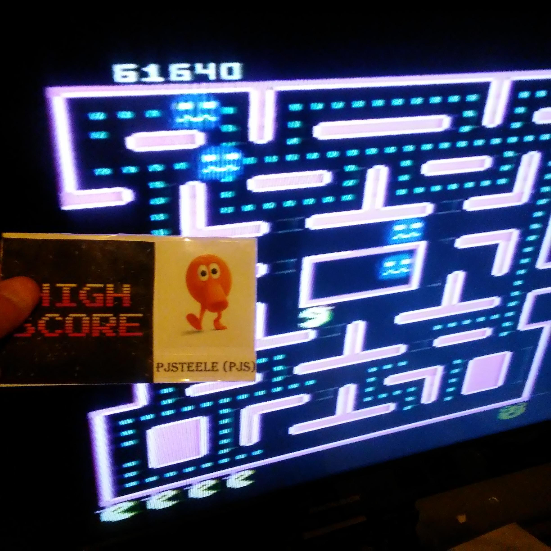 Pjsteele: Ms. Pac-Man: Teddy Bear (Atari 7800) 61,640 points on 2018-07-08 11:16:09