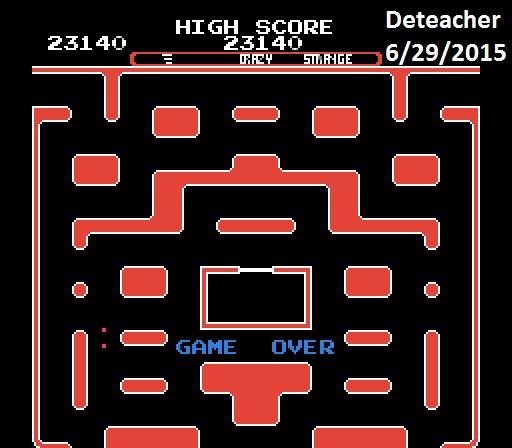 Deteacher: Ms. Pac-Man [Tengen] [AorB/ Crazy/ Strange/ Level 1 Start] (NES/Famicom Emulated) 23,140 points on 2015-06-29 21:21:33