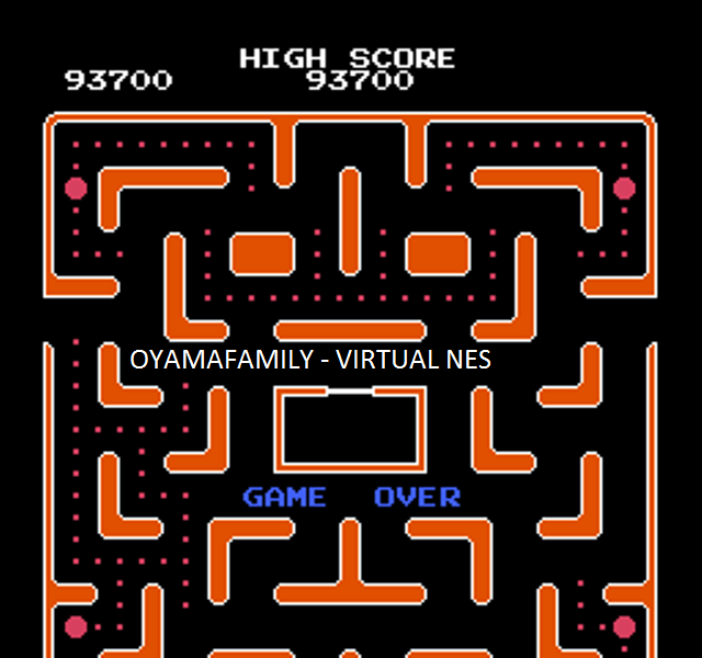 oyamafamily: Ms. Pac-Man [Tengen] (NES/Famicom Emulated) 93,700 points on 2015-11-18 18:38:07