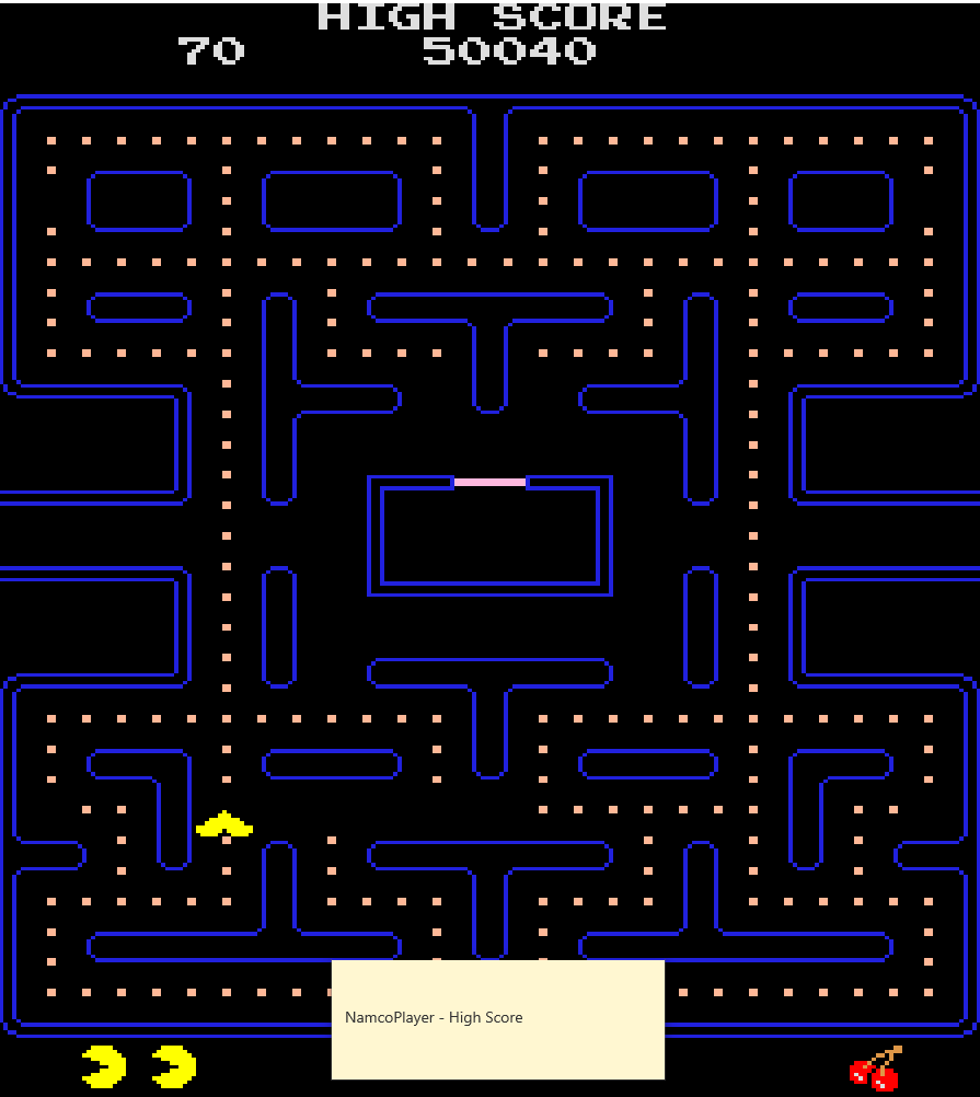 NamcoPlayer: Ms. Pacman/Galaga: Class of 1981: Pac-Man Turbo [20pacgal] (Arcade Emulated / M.A.M.E.) 50,040 points on 2020-11-03 13:29:29
