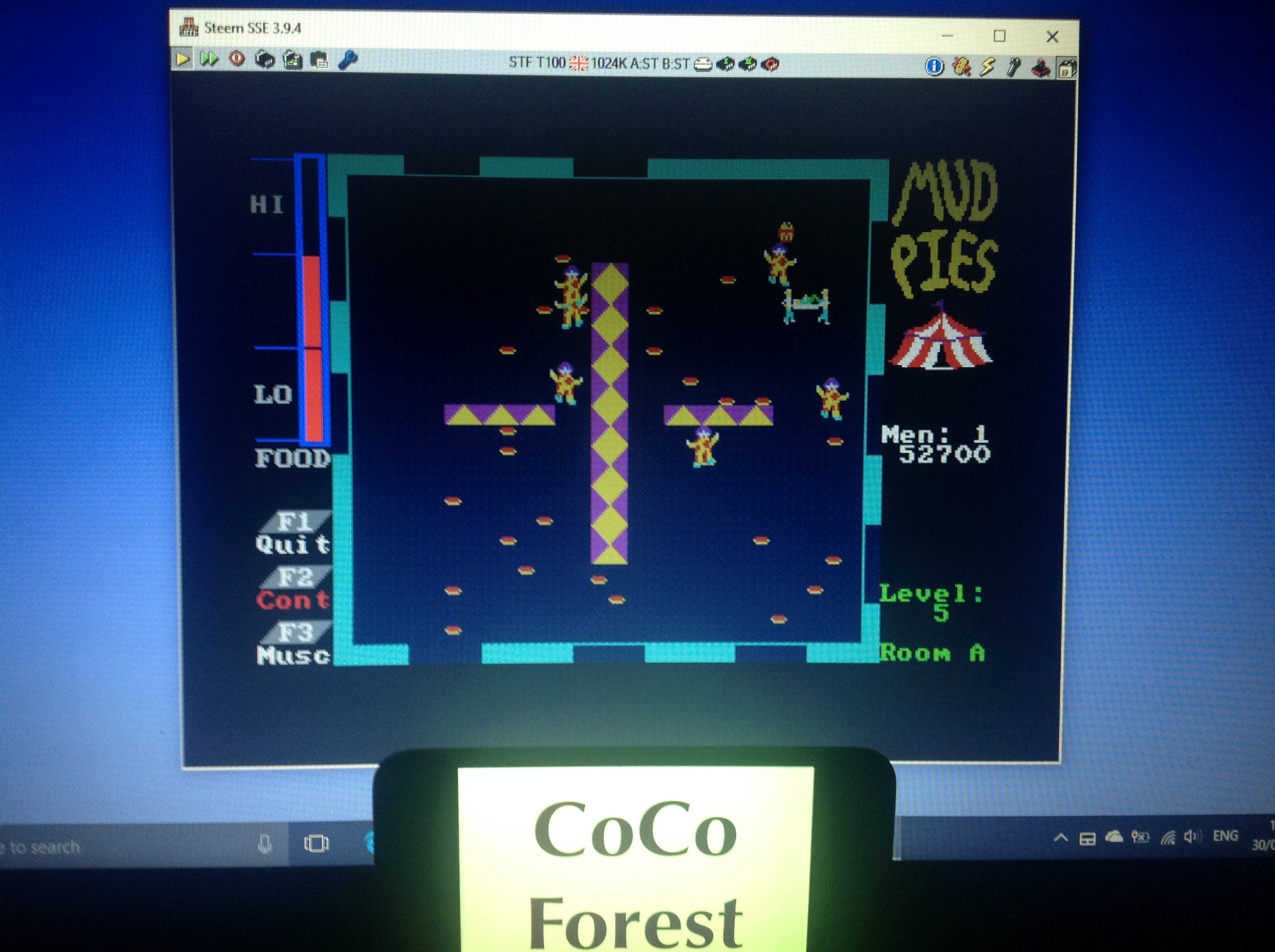 CoCoForest: Mudpies (Atari ST Emulated) 52,700 points on 2018-01-30 10:47:14
