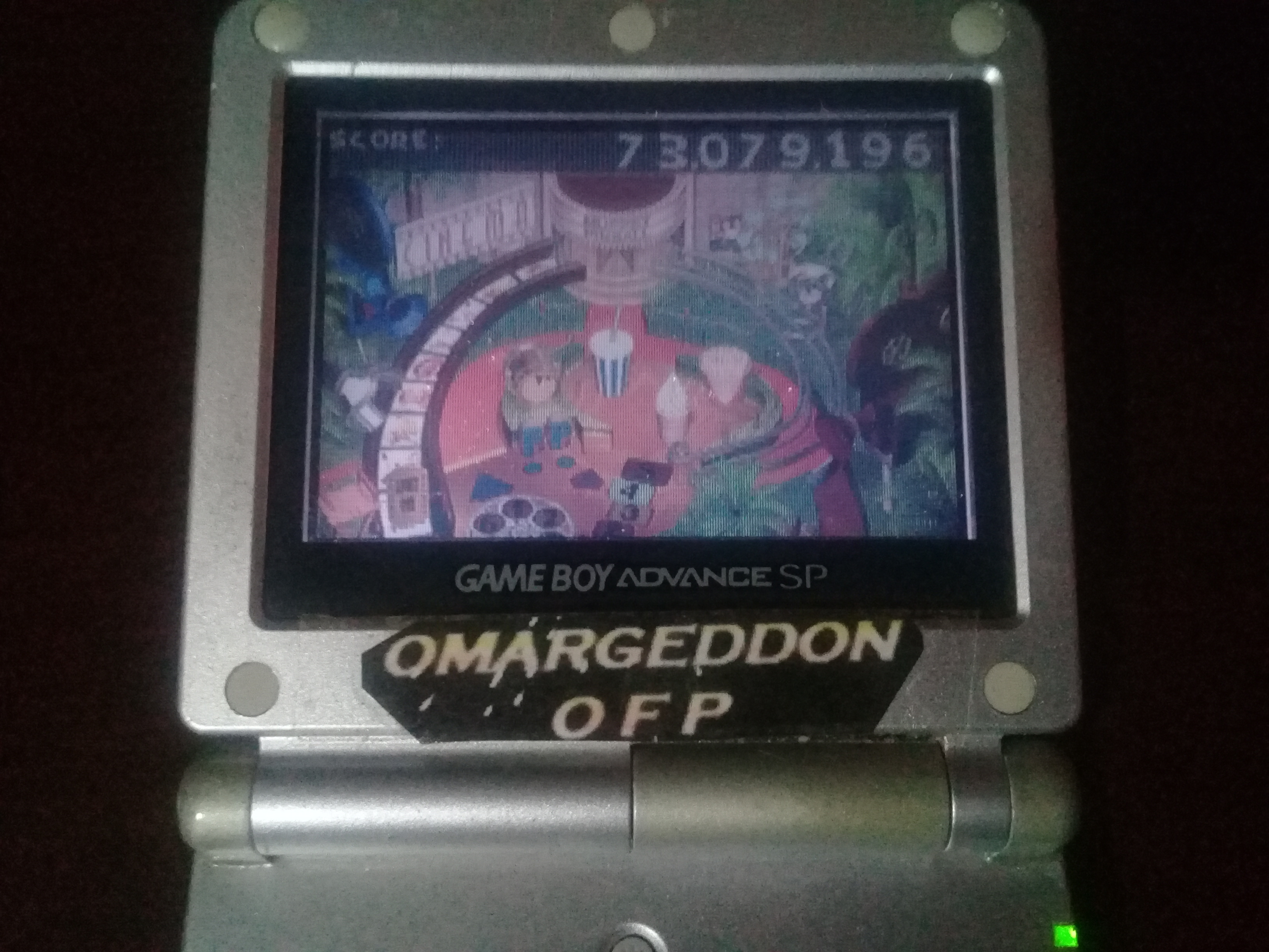 omargeddon: Muppet Pinball Mayhem: Kermit [3 Balls] (GBA) 73,079,196 points on 2019-10-06 14:35:58