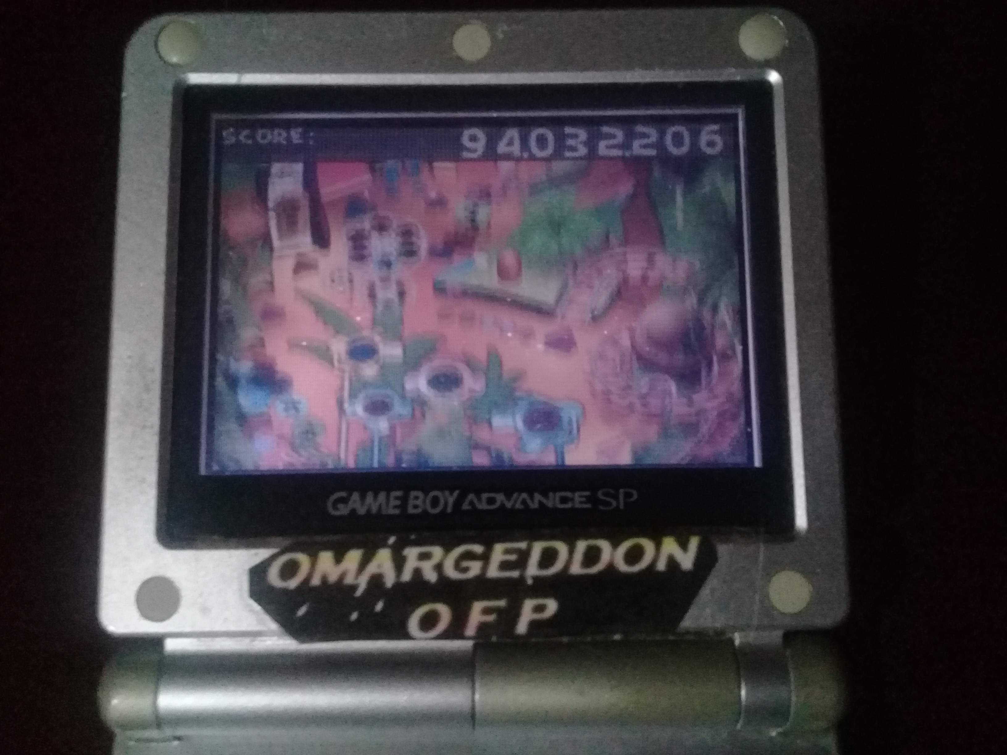 omargeddon: Muppet Pinball Mayhem: Kermit [5 Balls] (GBA) 94,032,206 points on 2019-11-11 09:38:18