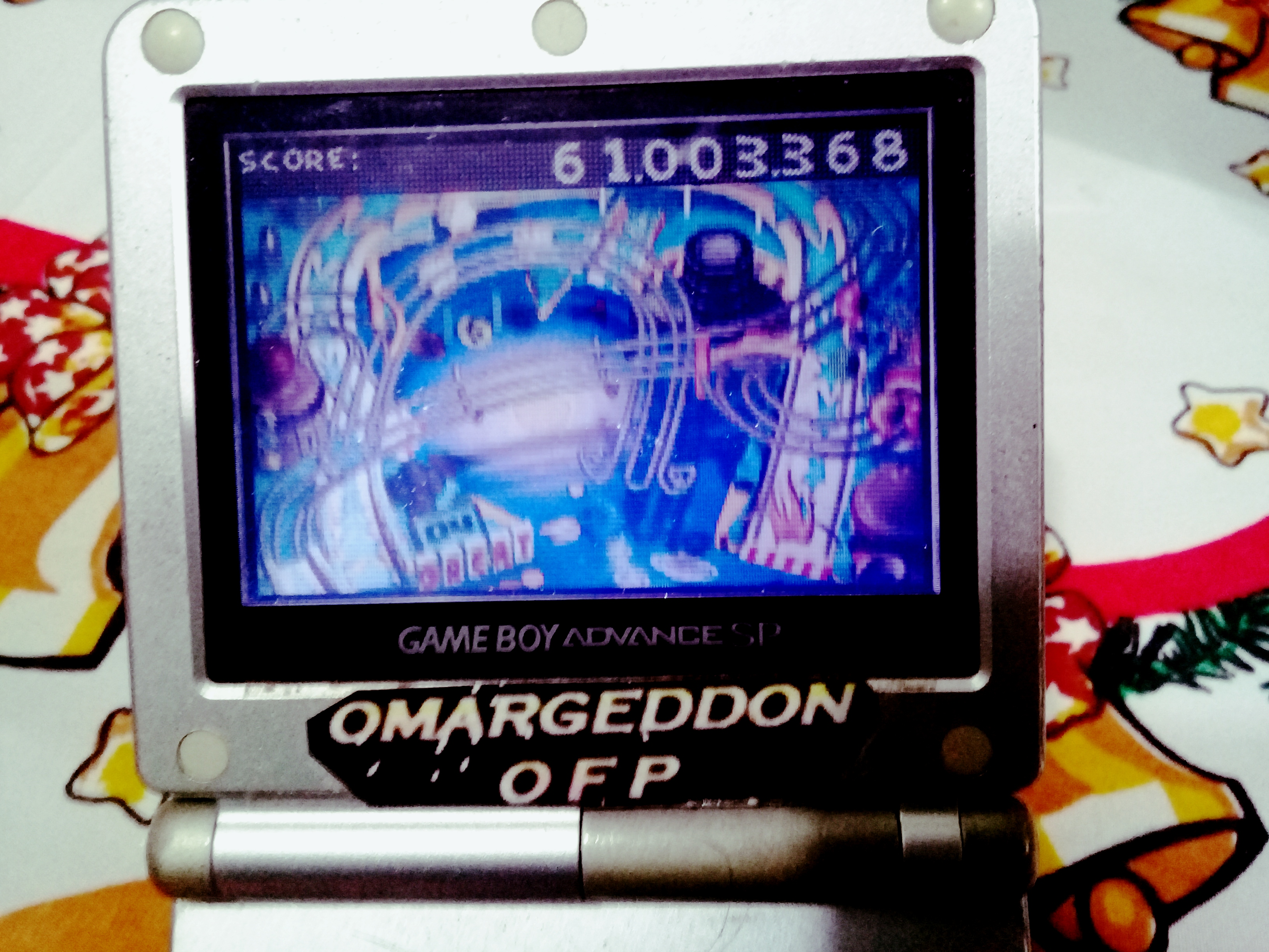 omargeddon: Muppet Pinball Mayhem: Konzo [3 Balls] (GBA) 61,003,368 points on 2019-12-26 16:50:38