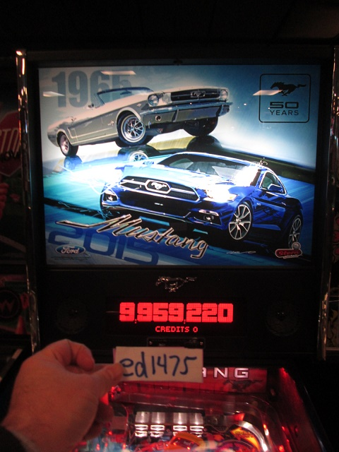 ed1475: Mustang [Limited Edition] (Pinball: 3 Balls) 9,959,220 points on 2017-02-05 16:33:49