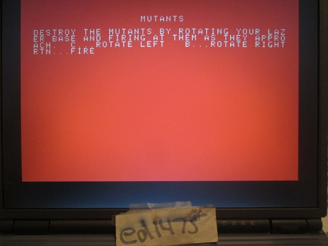 Mutants 1,640 points