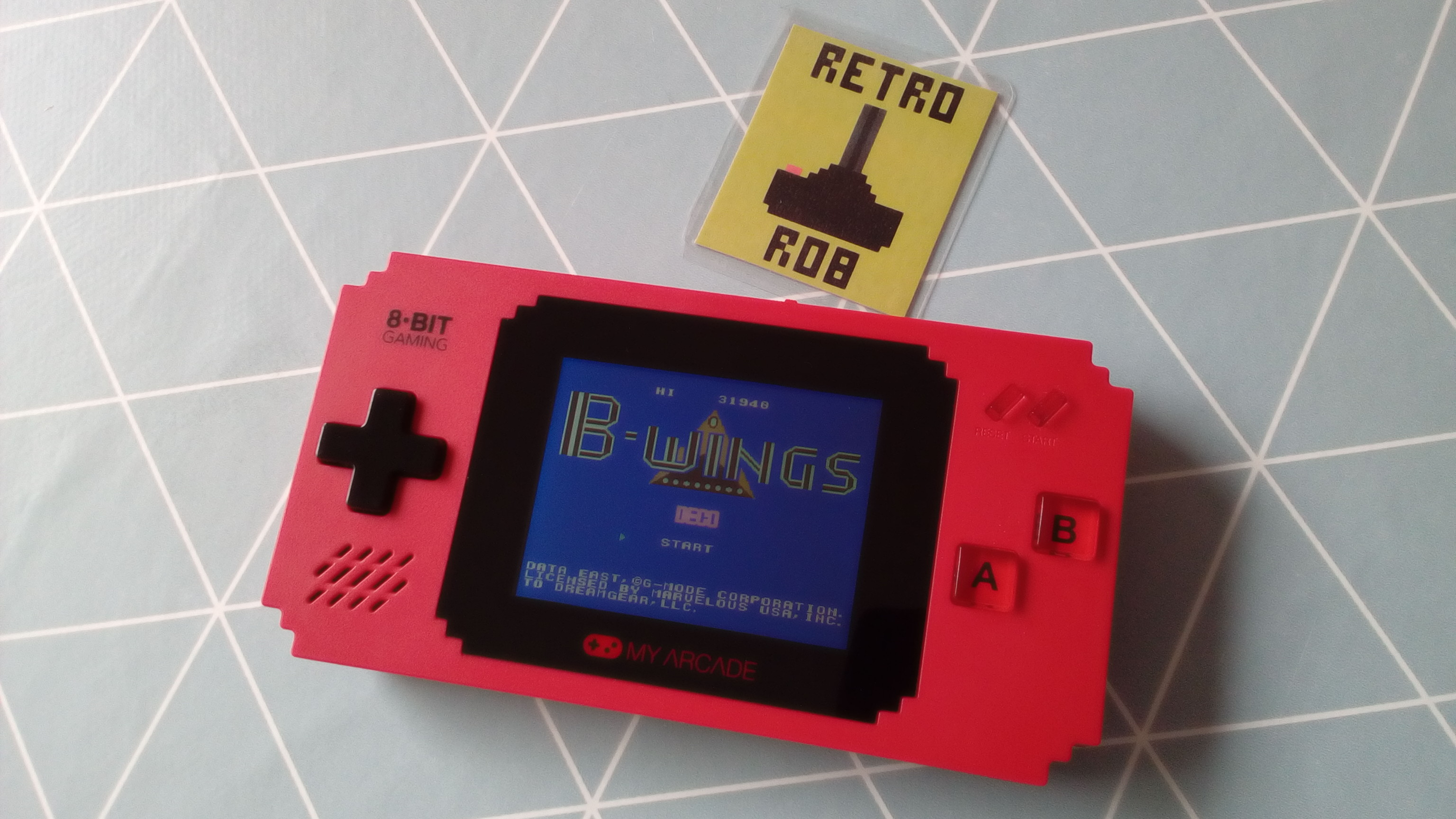 RetroRob: My Arcade: B-Wings (Dedicated Handheld) 31,940 points on 2020-04-30 10:41:35