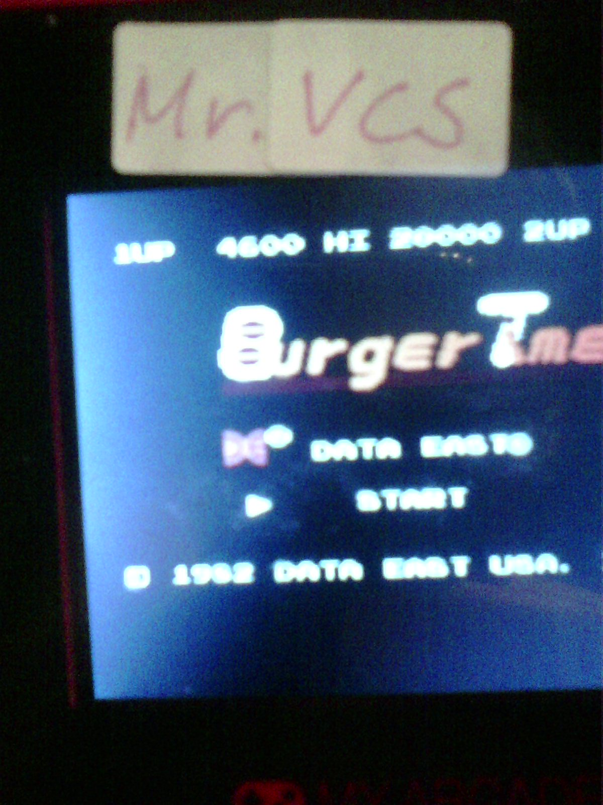 MisterVCS: My Arcade: Burgertime (Dedicated Handheld) 4,600 points on 2020-06-01 14:42:04