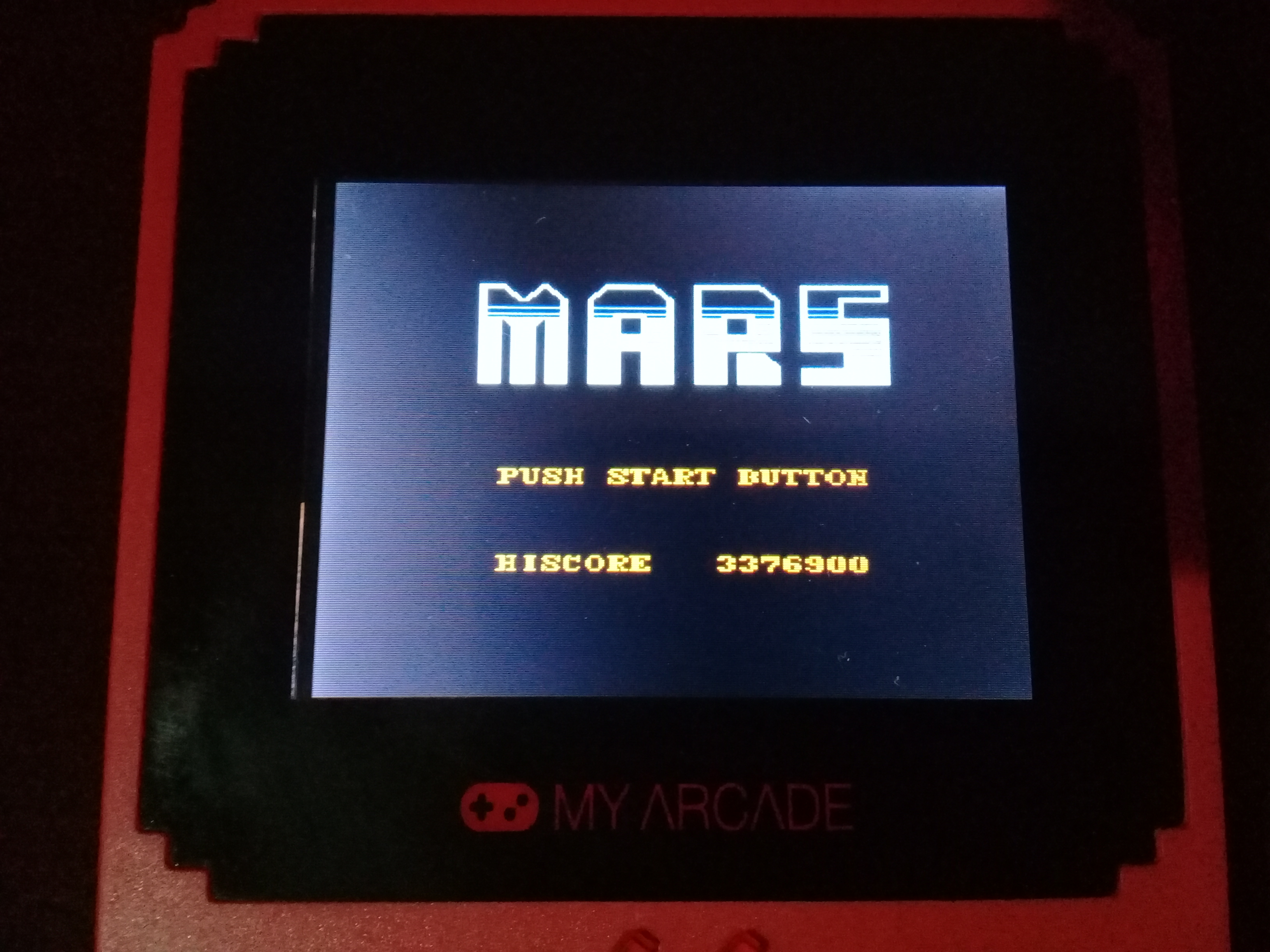 omargeddon: My Arcade: Mars (Dedicated Handheld) 3,376,900 points on 2020-07-06 12:52:50
