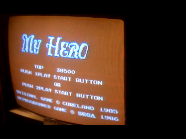 S.BAZ: My Hero (Sega Master System) 38,500 points on 2016-12-03 19:04:33