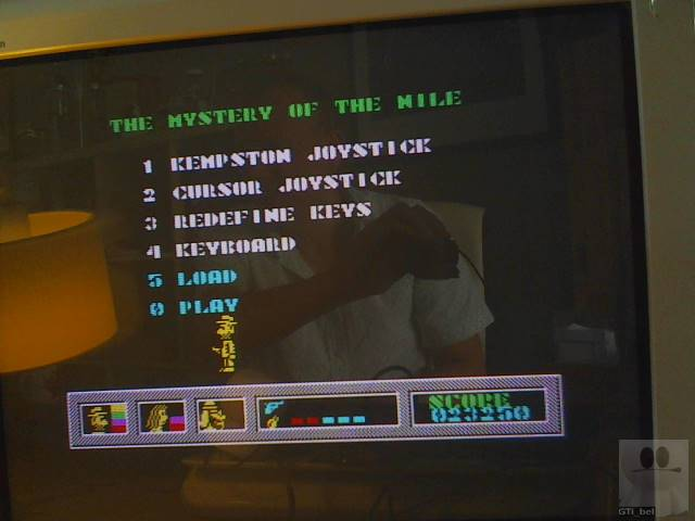GTibel: Mystery Of The Nile [100,000 Points Completion Bonus] (ZX Spectrum) 23,250 points on 2019-08-05 04:23:29