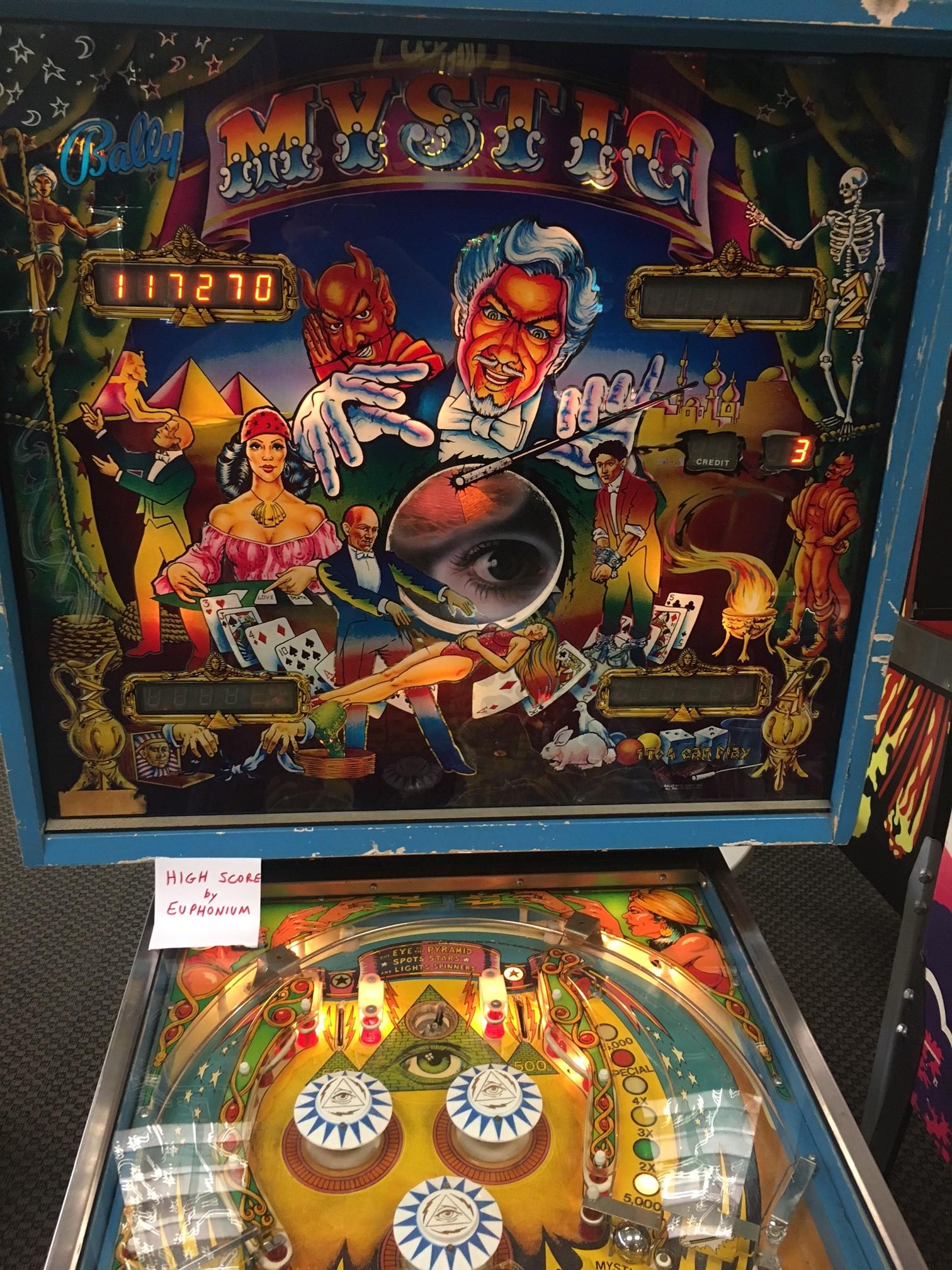 Mystic [1980 Pinball]