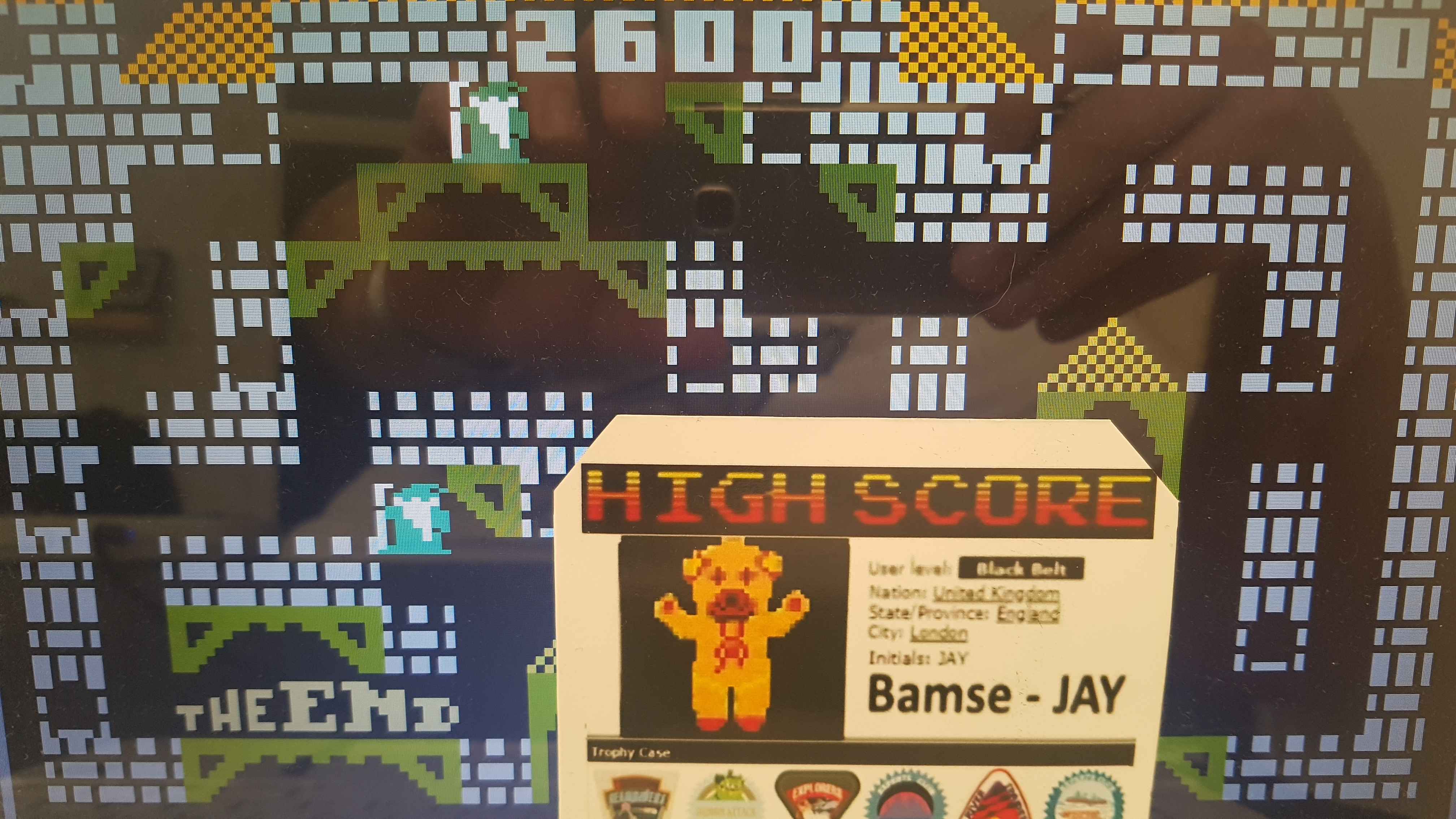 Bamse: Mystic Castle [Button 4: Knight] (Intellivision Emulated) 2,600 points on 2019-10-30 14:10:19