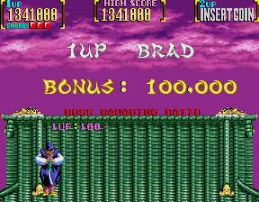 PG3: Mystic Warriors: Wrath Of The Ninjas [mystwarr] (Arcade Emulated / M.A.M.E.) 1,341,000 points on 2017-12-31 15:00:17