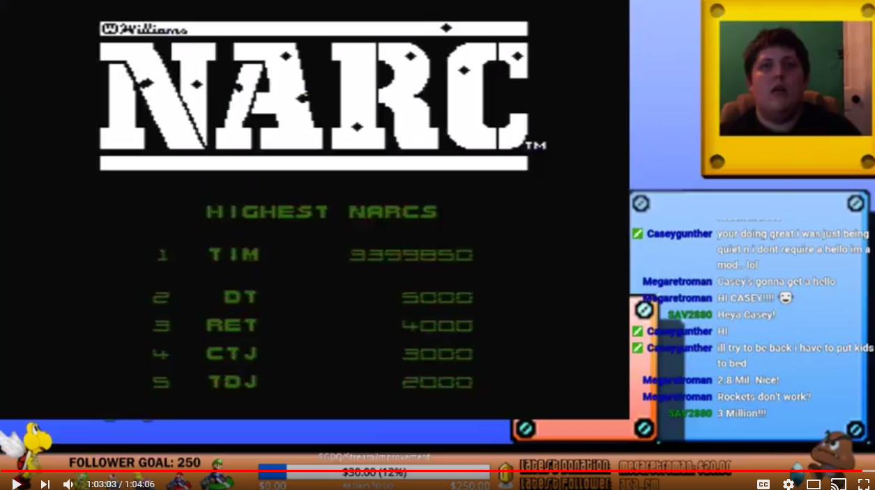 timzy88: NARC (NES/Famicom) 3,399,850 points on 2018-02-19 12:50:23