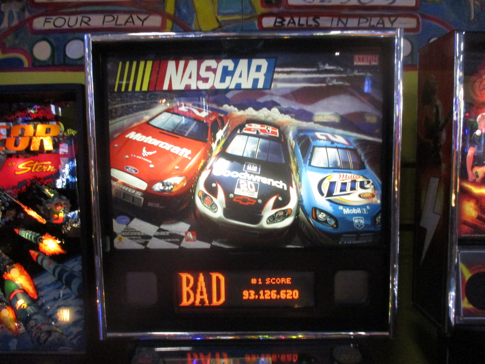 ed1475: NASCAR / Grand Prix (Pinball: 3 Balls) 7,361,630 points on 2017-08-24 19:48:47