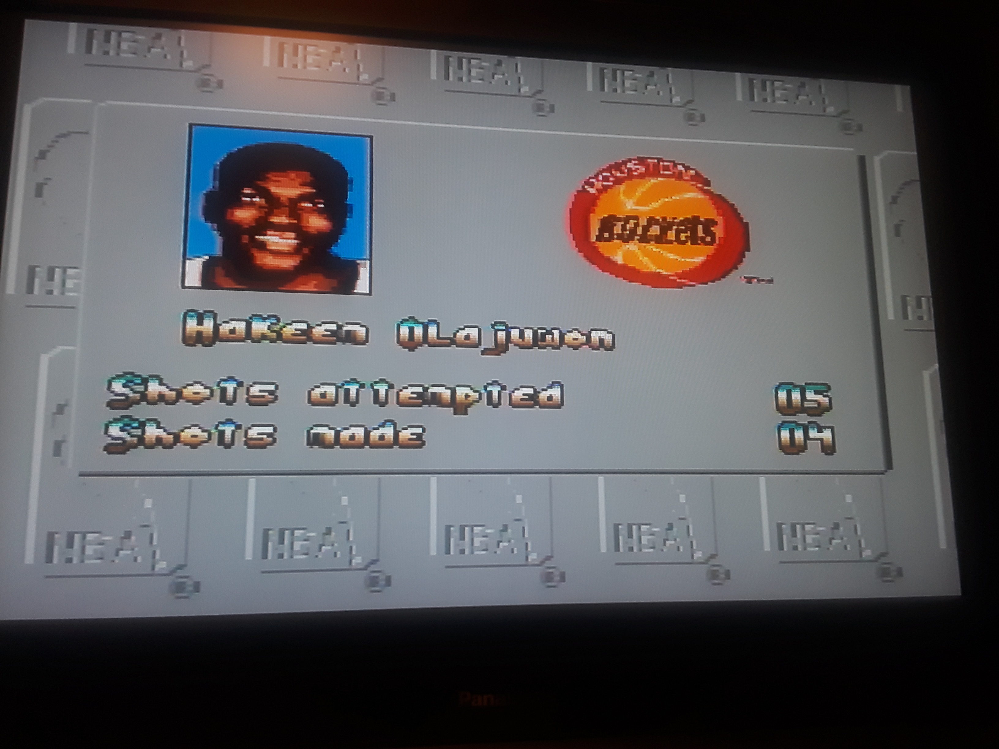 JML101582: NBA All-Star Challenge [Free Throw: One Round] (Sega Genesis / MegaDrive Emulated) 4 points on 2018-12-30 18:52:29