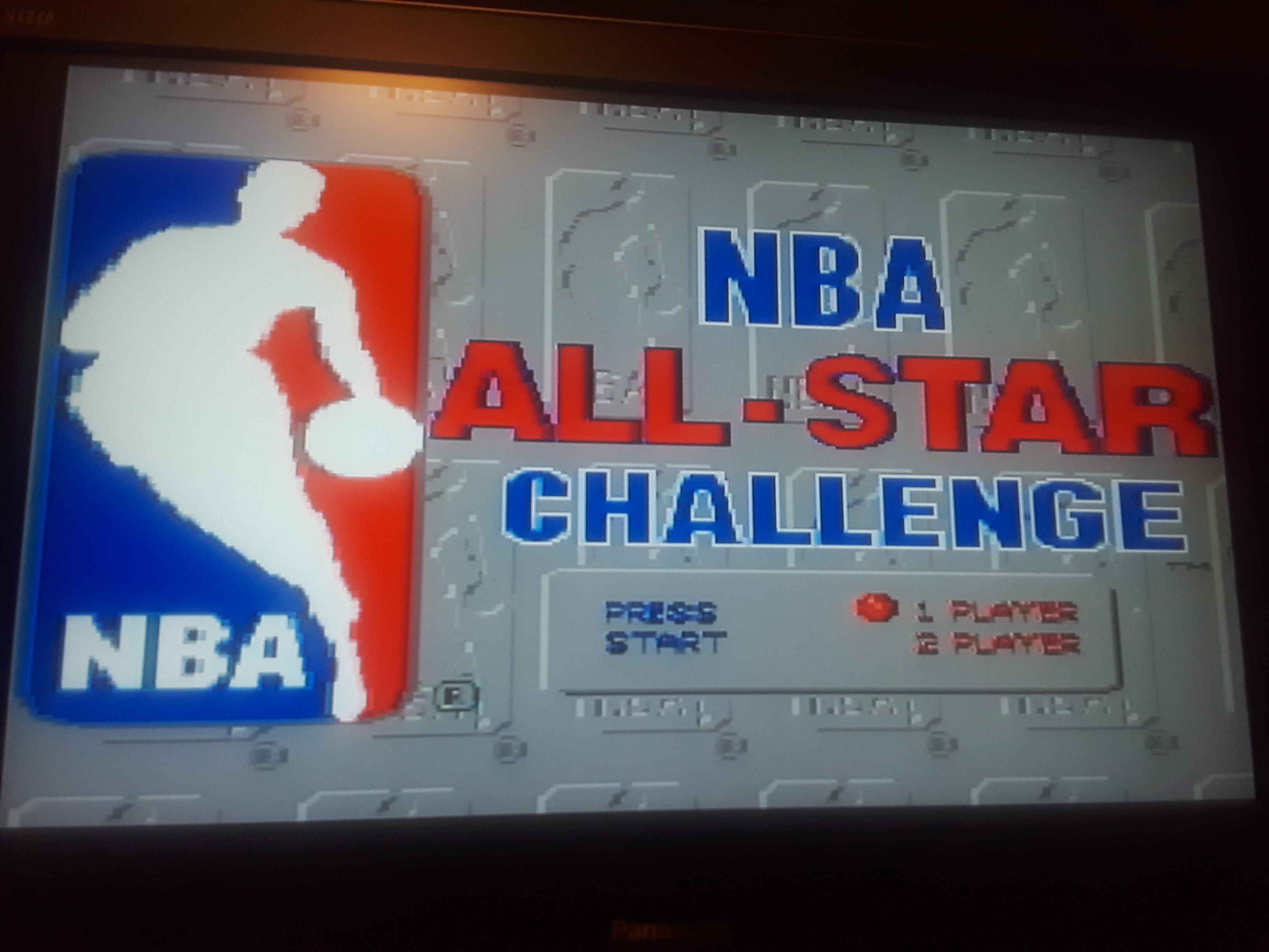 JML101582: NBA All-Star Challenge [One-On-One: Point Difference] (Sega Genesis / MegaDrive Emulated) 7 points on 2018-12-30 18:58:26