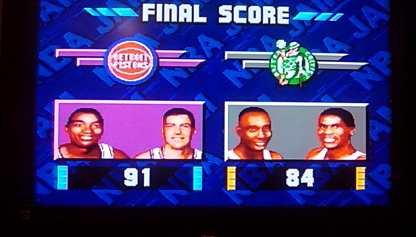 NBA Jam [Easy] 91 points