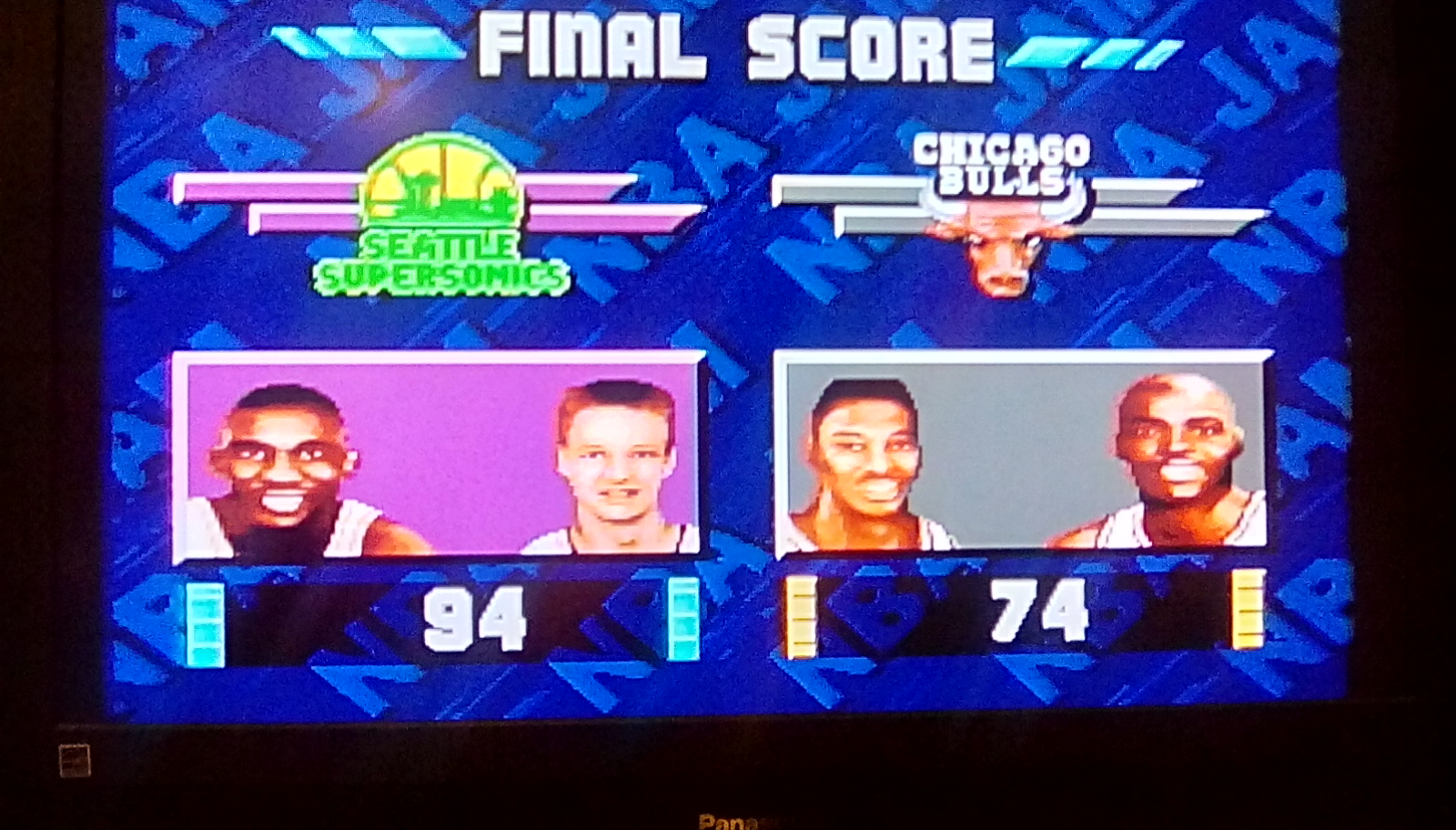 NBA Jam [Medium] 94 points