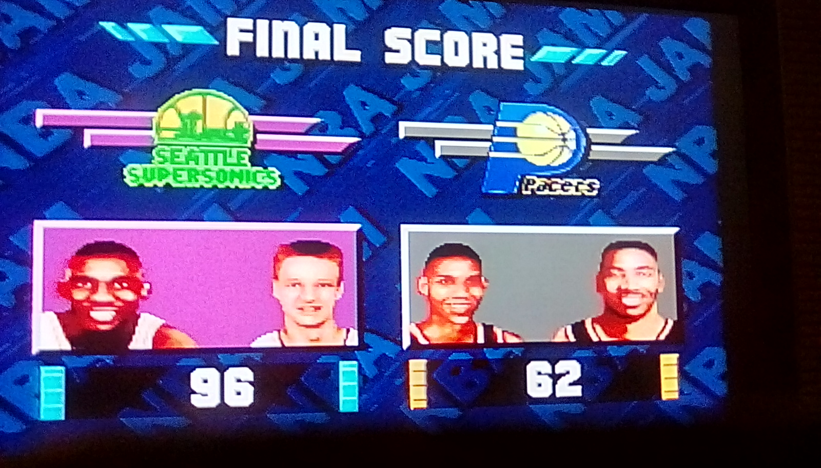 NBA Jam [Medium] 96 points