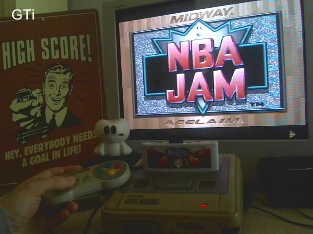 GTibel: NBA Jam [Point Difference] [Normal/normal] (SNES/Super Famicom) 3 points on 2016-11-19 08:56:33