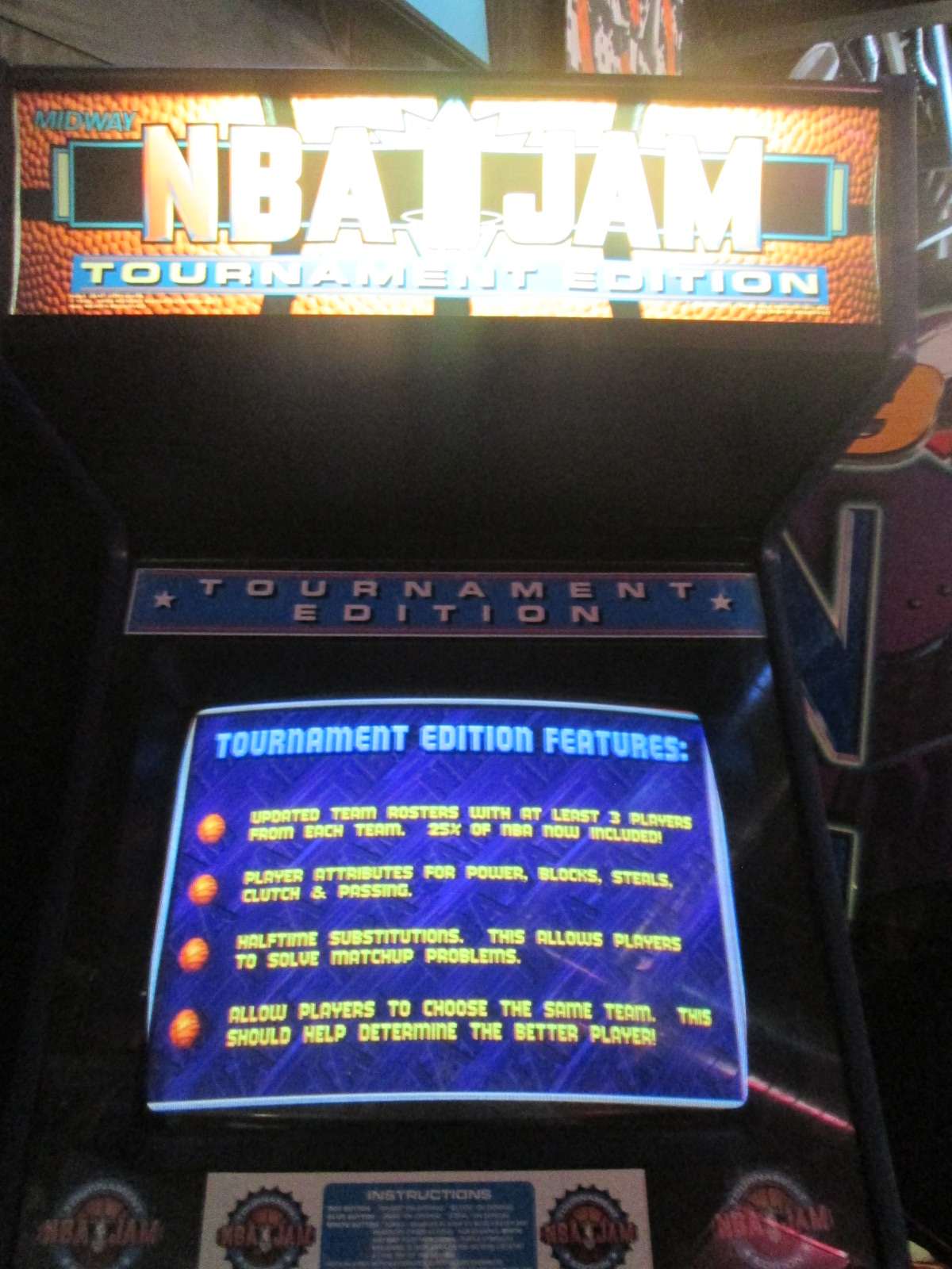 ed1475: NBA Jam: Tournament Edition  [Point Difference] (Arcade) -5 points on 2016-09-18 15:27:56
