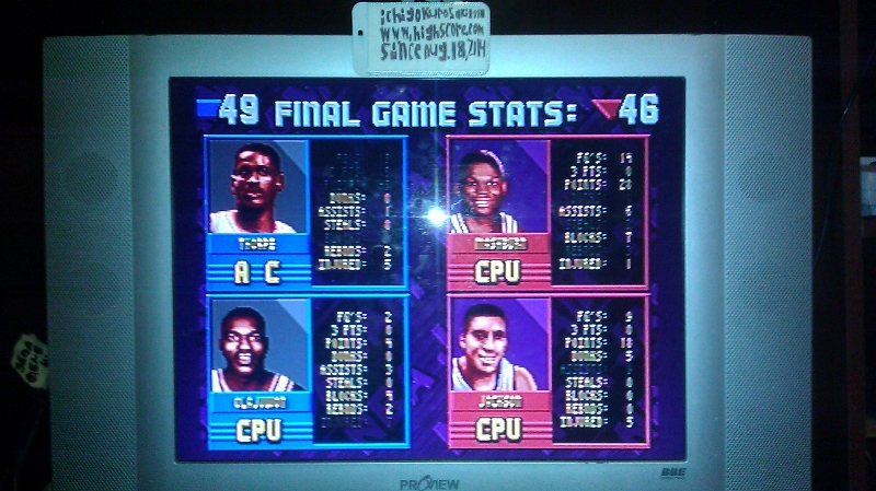 NBA Jam: Tournament Edition [point difference] [normal/normal] 3 points