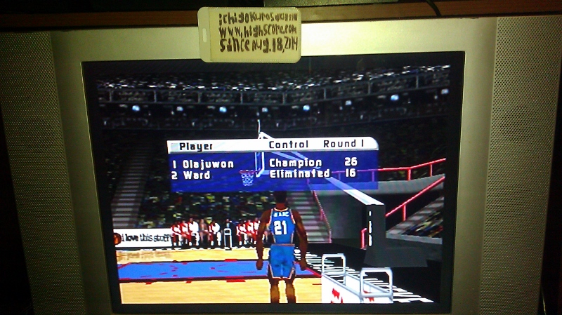 ichigokurosaki1991: NBA Live 99 [3 Point Shoot out / Split Screen: Off / Rookie] (N64) 26 points on 2016-06-25 02:32:33