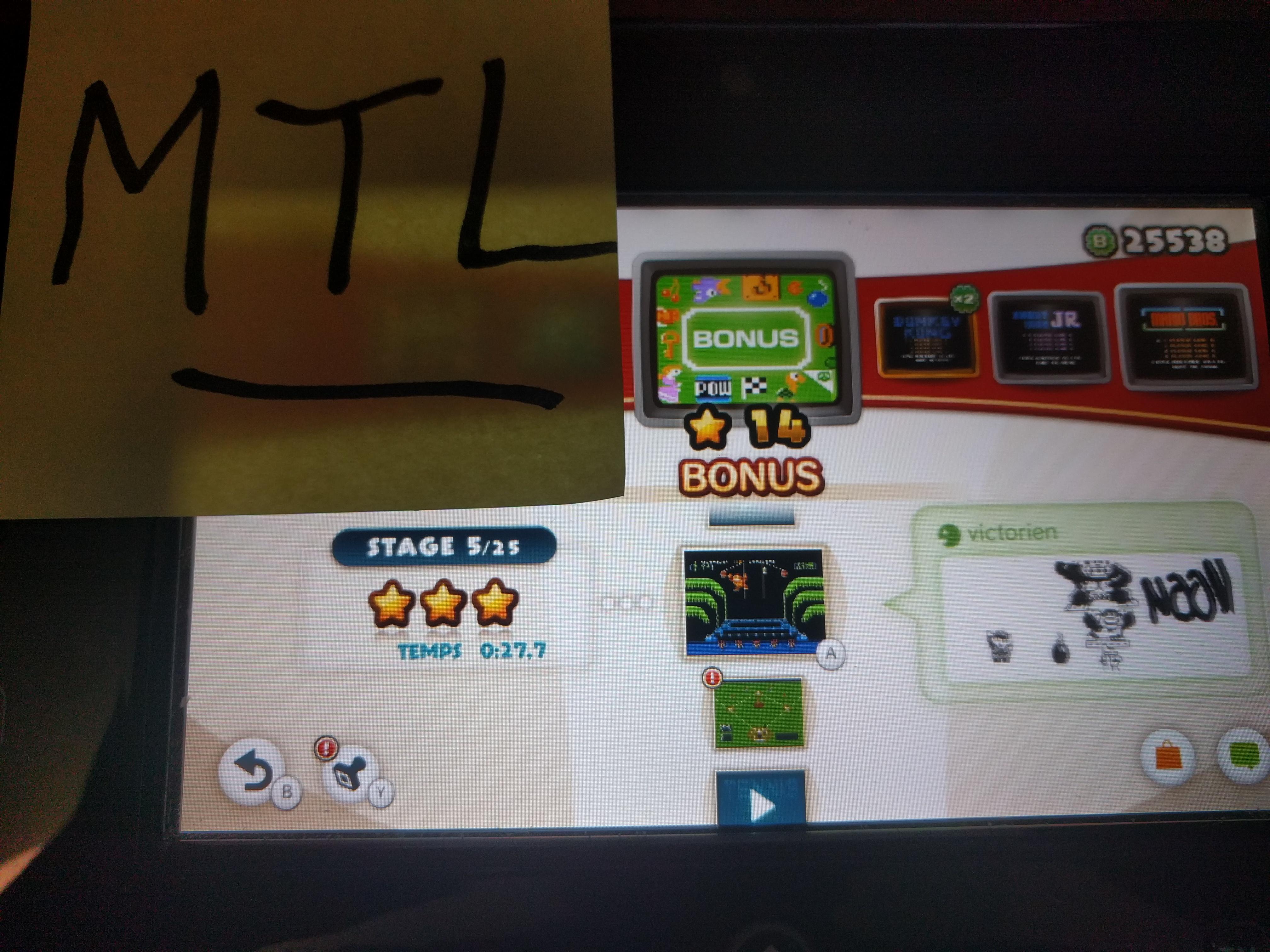 Mantalow: NES Remix: Bonus: Stage 5 (Wii U) 0:00:27.7 points on 2016-06-15 23:29:39