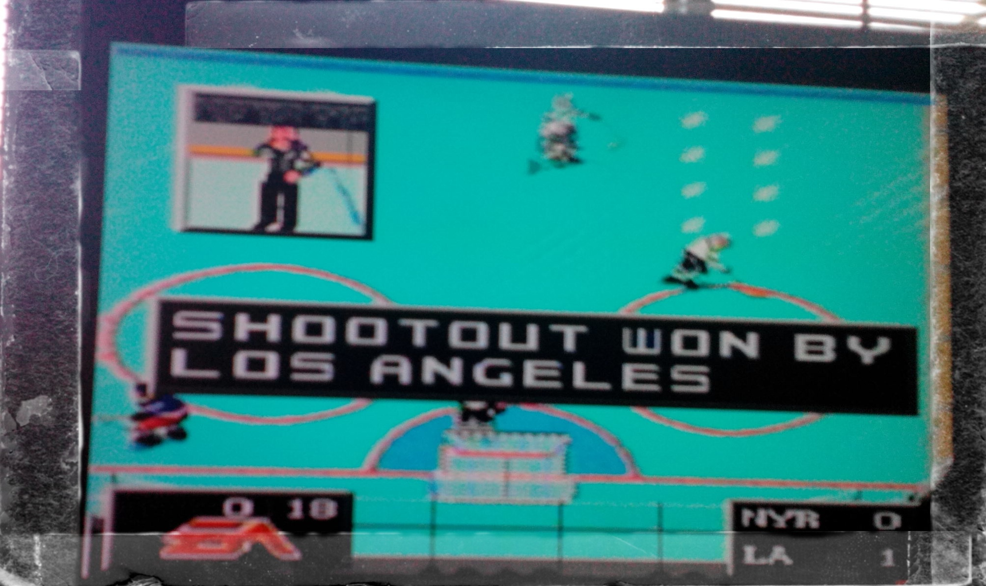 NHL 94: Shootout [Point Difference] 1 points