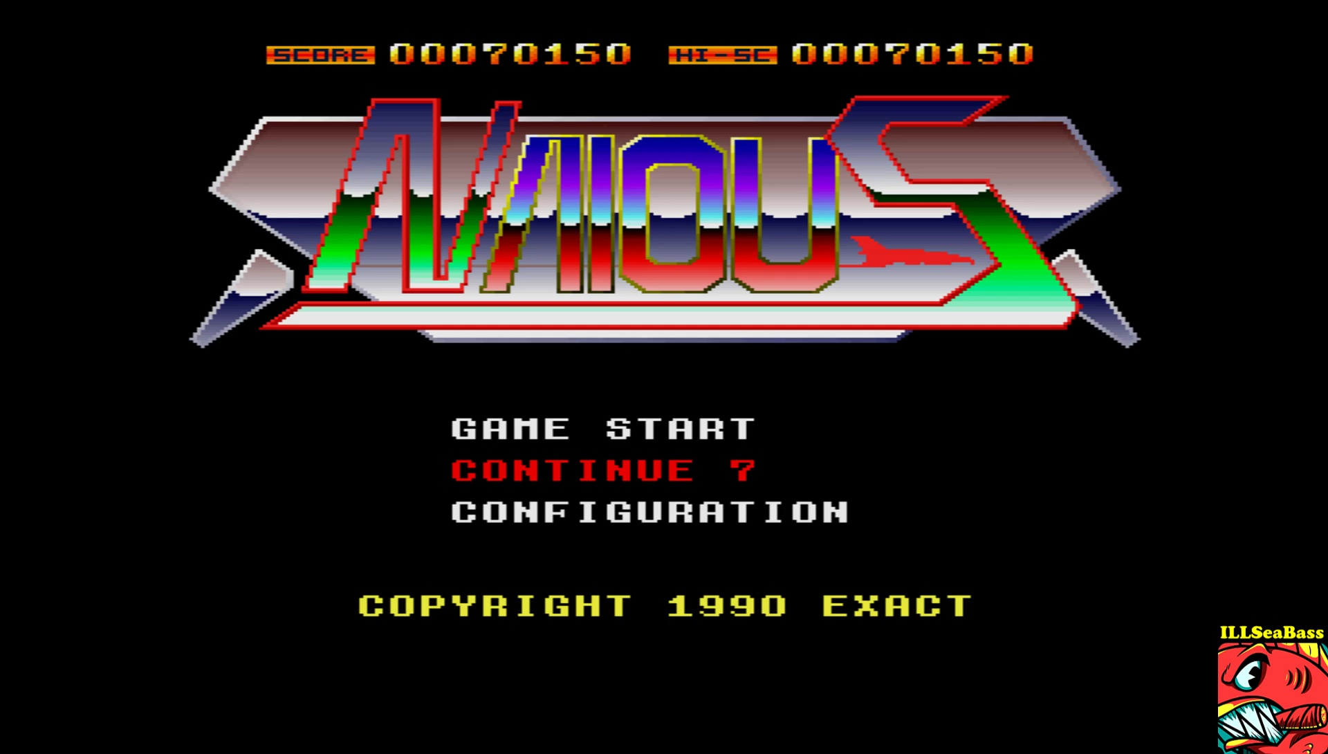 ILLSeaBass: Naious [Normal] (Sharp X68000 Emulated) 70,150 points on 2017-06-25 12:41:26