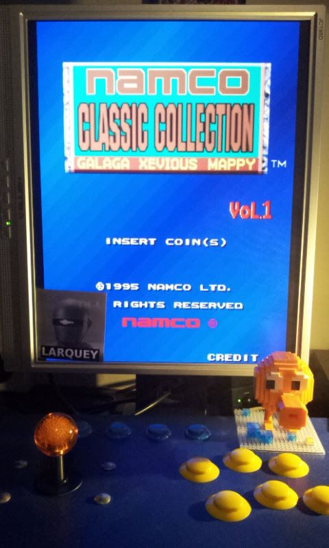 Larquey: Namco Classic Collection Vol. 1: Mappy Arrangement [ncv1] (Arcade Emulated / M.A.M.E.) 55,050 points on 2017-01-14 07:03:26