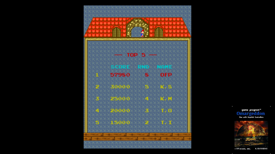 omargeddon: Namco Classic Collection Vol. 1: Mappy Arrangement [ncv1] (Arcade Emulated / M.A.M.E.) 57,980 points on 2017-11-02 23:45:42
