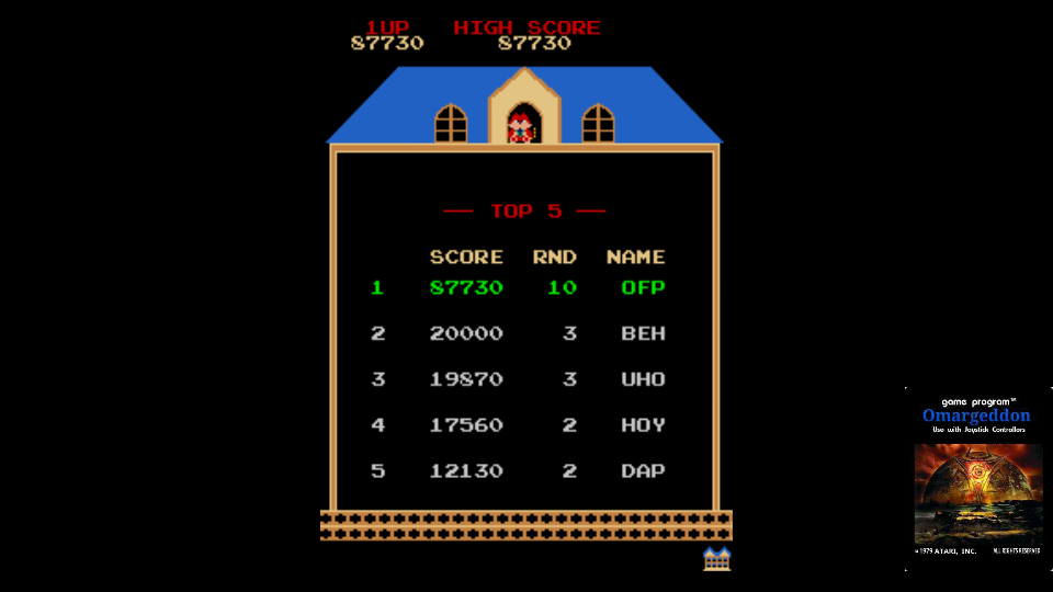 omargeddon: Namco Classic Collection Vol. 1: Mappy Original [ncv1] (Arcade Emulated / M.A.M.E.) 87,730 points on 2017-10-31 11:13:55