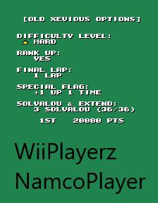 NamcoPlayer: Namco Classic Collection Vol. 1: Xevious Original [ncv1] (Arcade Emulated / M.A.M.E.) 51,400 points on 2020-09-10 13:33:21