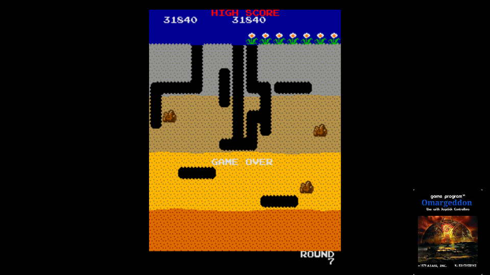 omargeddon: Namco Classic Collection Vol. 2: Dig Dug [ncv2] (Arcade Emulated / M.A.M.E.) 31,840 points on 2017-11-03 01:01:11