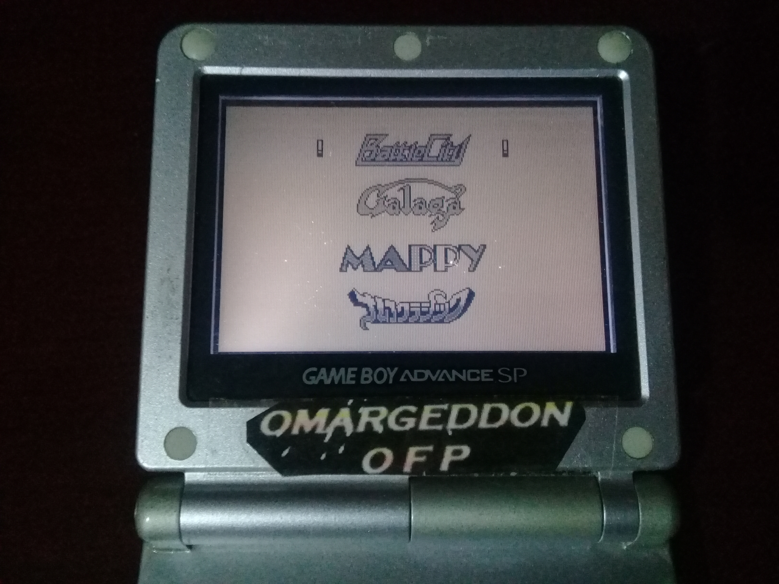 omargeddon: Namco Gallery Vol.1: Battle City (Game Boy) 4,600 points on 2018-12-07 10:16:30