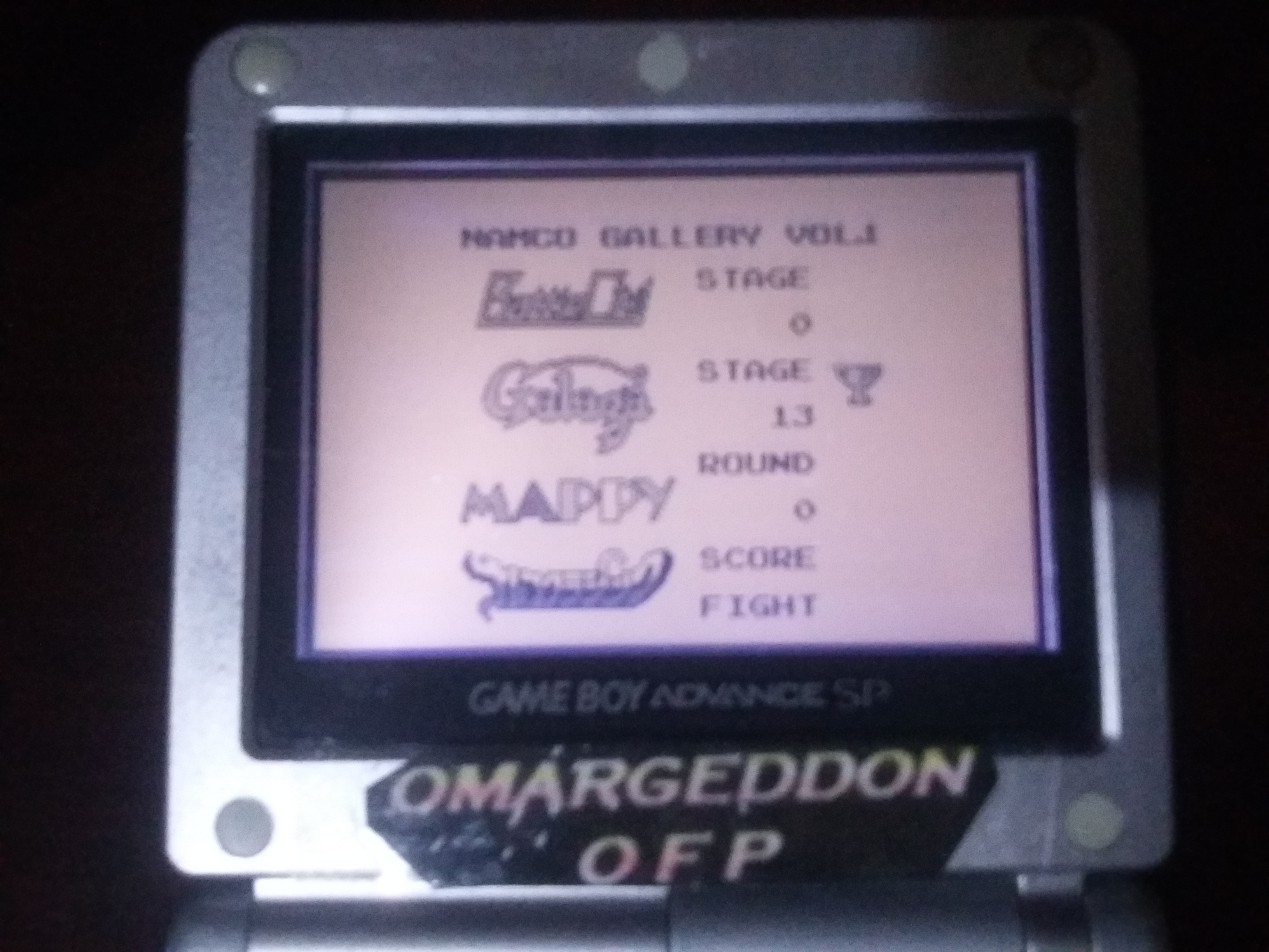omargeddon: Namco Gallery Vol.1: Galaga (Game Boy) 83,290 points on 2018-01-03 20:57:10
