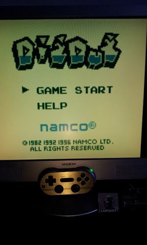 Larquey: Namco Gallery Vol.2: Dig Dug (Game Boy Emulated) 23,020 points on 2017-01-14 08:21:15