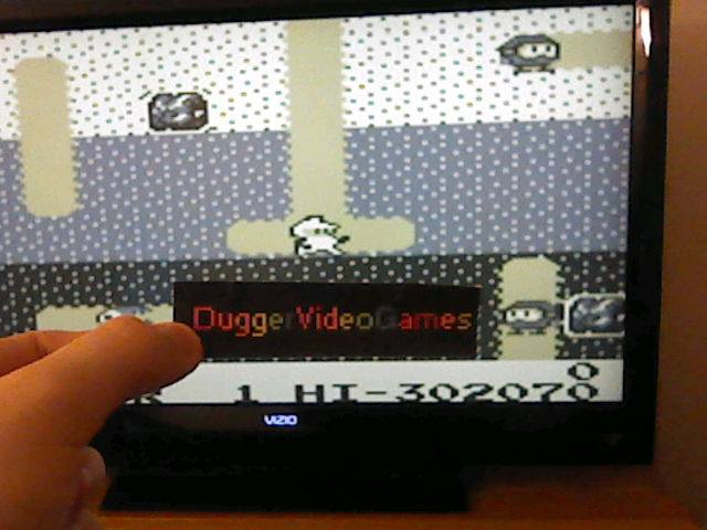 DuggerVideoGames: Namco Gallery Vol.2: Dig Dug (Game Boy Emulated) 302,070 points on 2017-12-03 22:51:18